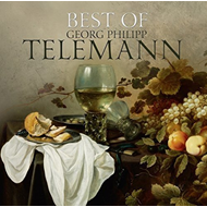 Produktbilde for Best Of Georg Philipp Telemann (CD)