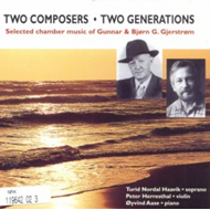 Two Composers, Two Generations (CD)