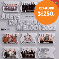 Produktbilde for Årets Dansebandmelodi 2003 (CD)