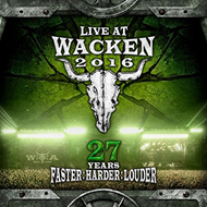 Live At Wacken 2016 - 27 Years Faster: Harder: Louder (2CD + 2 Blu-ray)