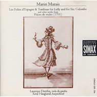 Marais: Music For Gamba (CD)