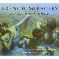 Produktbilde for Aage Kvalbein - French Miracles (CD)