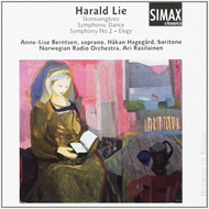 Produktbilde for Lie: Symphony No. 2, Elegy (CD)