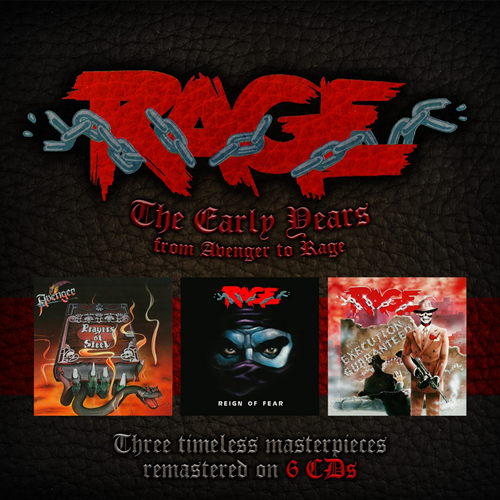 The Early Years - From Avenger To Rage (6CD)