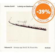 Produktbilde for Beethoven: The Piano Sonatas, Volume VI (CD)