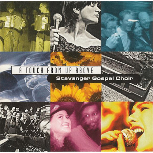 A Touch From Up Above (CD)