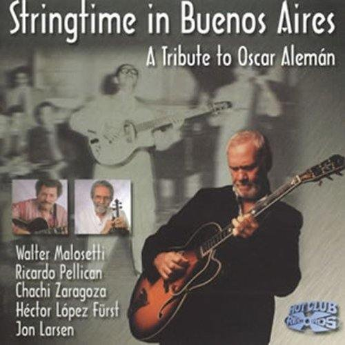 A Tribute To Oscar Alemán (CD)