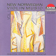 New Norwegian Violin Music Vol. 1 (CD)