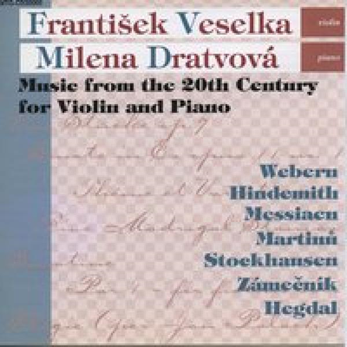 Music From The 20th Century For Violin And Piano (CD)