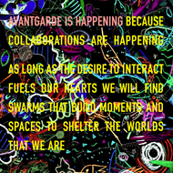 Avant Garde Is Happening Because Collaborations Are Happening As Long… (CD)