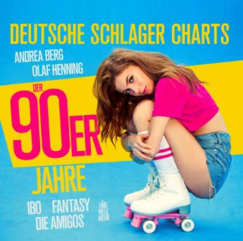 German Schlager Charts In The 90s (2CD)