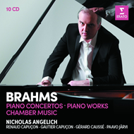 Brahms: Piano Concertos, Piano Works, Chamber Music (10CD)