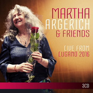 Martha Argerich & Friends Live From Lugano 2016 (3CD)