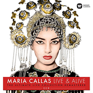 Produktbilde for Maria Callas - Live & Alive: The Ultimate Live Collection Remastered (2CD)
