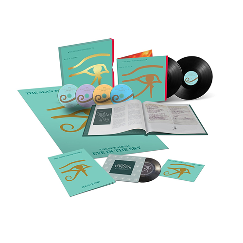 "Eye In The Sky - 35th Anniversary Edition Box Set (3CD + 2LP + 7"" + Blu-ray A)"