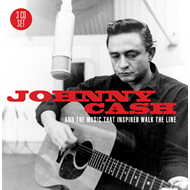 Johnny Cash Music That Inspired Walk The Line (3CD)