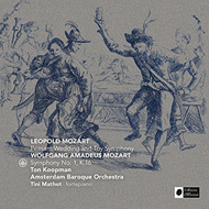 Produktbilde for L. Mozart: Peasant Wedding And Toy Symphony, Mozart: Symphony No. 1, K 16 (CD)