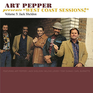 "Art Pepper Presents ""West Coast Sessions"" Volume 5: Jack Sheldon (CD)"