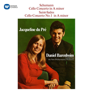 Jacqueline Du Pré - Schumann & Saint-Saëns: Cello (CD)