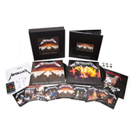 Master Of Puppets - Deluxe Box Set (10CD + 3LP + 2DVD + MC)