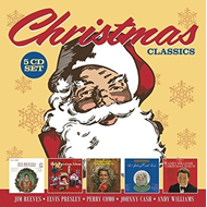 Produktbilde for Christmas Classics: Jim Reeves / Elvis Presley / Perry Como / Johnny Cash / Andy Williams (5CD)