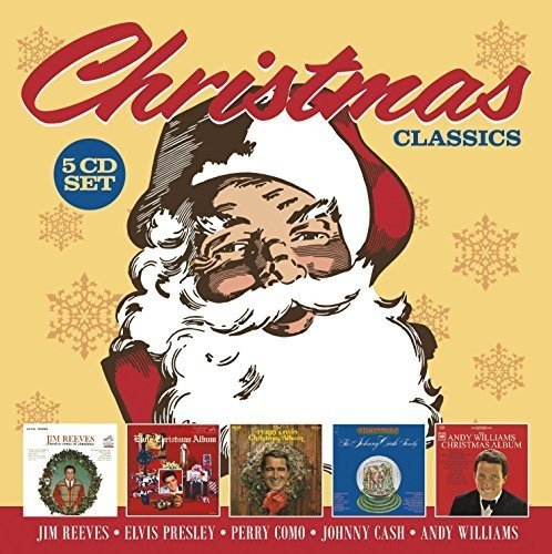 Christmas Classics: Jim Reeves / Elvis Presley / Perry Como / Johnny Cash / Andy Williams (5CD)