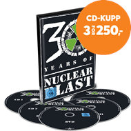Produktbilde for 30 Years Of Nuclear Blast (4CD + DVD)