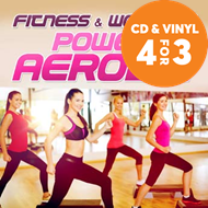 Produktbilde for Fitness & Workout;Power Aerobic (CD)