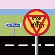 Stop Being Perfect (CD)