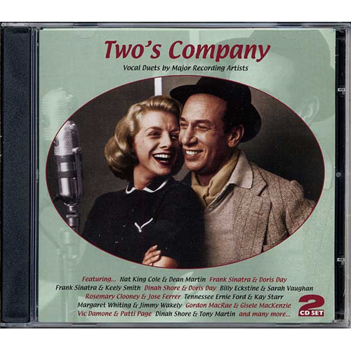 Two's Company - Vocal Duets By Major Recording Stars Of The 50s (2CD)