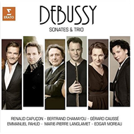 Produktbilde for Debussy: Sonatas And Trio (CD)