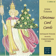John Turner - Christmas Card Carols (CD)