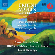 British Violin Concertos (CD)