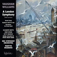 Vaughan Williams: A London Symphony (1920 Version) (CD)