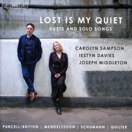 Carolyn Sampson & Iestyn Davies - Lost Is My Quiet: Duets And Solo Songs (SACD-Hybrid)