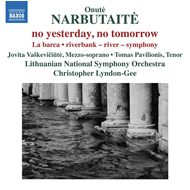 Narbutaite: No Yesterday, No Tomorrow (CD)