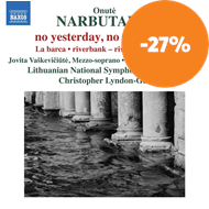 Produktbilde for Narbutaite: No Yesterday, No Tomorrow (CD)