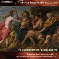 Bach: Secular Cantatas Vol. 9 - The Contest Between Phoebus And Pan (SACD-Hybrid)