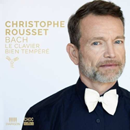 Christophe Rousset - Bach: Le Clavier Bien Tempere/Well Tempered Klavier 1 & 2 (4CD)