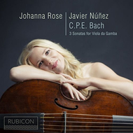 Johanna Rose - C.P.E. Bach: 3 Sonatas For Viola Da Gamba (CD)