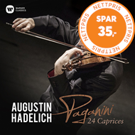 Produktbilde for Augustin Hadelich - Paganini Caprices (CD)