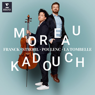 Produktbilde for Edgar Moreau & David Kadouch - Cello Sonatas (2CD)