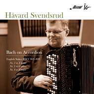 Håvard Svendsrud - Bach On Accordion (CD)