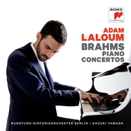Tom Laloum - Brahms: Piano Concertos (2CD)