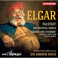 "Elgar: Falstaff - Orchestral Songs And ""Grania And Diarmid"" (CD)"