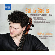 Gabriel Schwabe - Saint-Saëns: Works For Cello And Orchestra (CD)