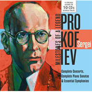 Milestones Of A Legend - Prokofiev (10CD)
