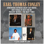 Somewhere Between Right And Wrong/Don't Make It Easy For Me/Treadin' Water/Too Many Times (2CD)