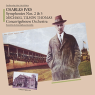Ives: Symphony No.2 & 3 (CD)