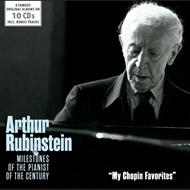 Milestones Of The Pianist Of The Century - My Chopin Favorites (10CD)